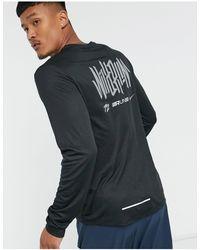 Nike - Черный Лонгслив С Логотипом Pacer - Lyst