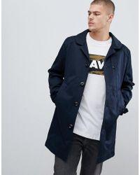 G-Star RAW Garber - Trench-coat - Bleu marine