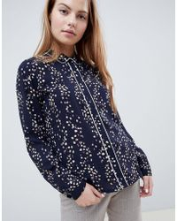 ONLY - Ditte Floral Print Shirt - Lyst