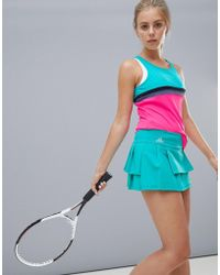 adidas - Tennis Skirt In Mint - Lyst