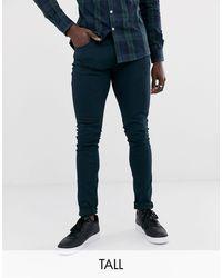 Farah – Drake – Schmal geschnittene Jeans - Blau