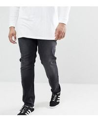 Farah - Drake Slim Fit Jeans In Grey - Lyst