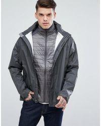 Marmot | Precip Waterproof Hooded Jacket Ripstop In Dark Grey | Lyst