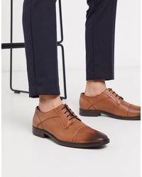Redfoot - Коричневые Кожаные Туфли Дерби -светло-коричневый - Lyst