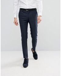 SELECTED | Skinny Wedding Suit Pants | Lyst
