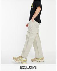 Collusion Pantalones color utilitarios - Multicolor