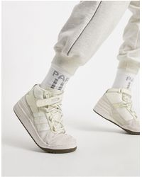 Ivy Park Adidas X Forum Mid Trainers - White