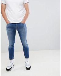 DIESEL - Stickkler Super Skinny Jeans - Lyst