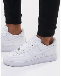 Nike Air Force 1 '07 Trainers - White