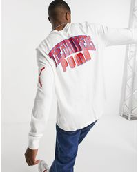 PUMA - Camiseta blanca - Lyst