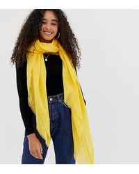 New Look Ярко-желтый Шарф