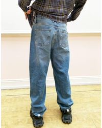 Collusion X014 90s baggy Jeans - Blue