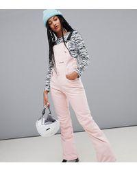 Billabong - Riva Bib Ski Pants In Pink - Lyst