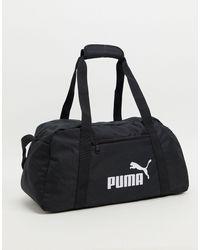PUMA Черная Спортивная Сумка Phase-черный Цвет