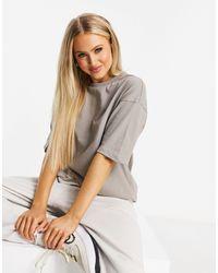 Hummel Oversized T-shirt - Brown