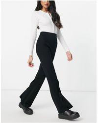 Fashion Union Pantaloni - Nero