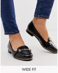 River Island - Mocassins pointure large - Lyst