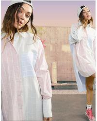 ASOS - Vestito camicia corto oversize - Lyst