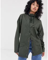Rains - Зеленая Водонепроницаемая Куртка -зеленый - Lyst