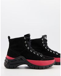 Calvin Klein Jeans Timotha Hi-top Chunky Sneakers - Black