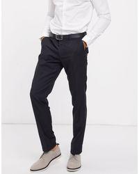 Tommy Hilfiger Rhames Slim Fit Suit Pants-grey