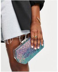True Decadence Hexagon Clutch Bag - Multicolour