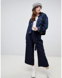 ASOS DESIGN - Mix & Match Culotte With Tie Waist - Lyst