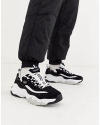 Skechers D'lites 3.0 - Sneakers Met Dikke Zool - Zwart