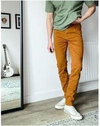 ASOS Jeans skinny senape - Giallo