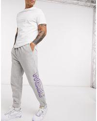 Wesc Speed - Jogger avec logo - Gris