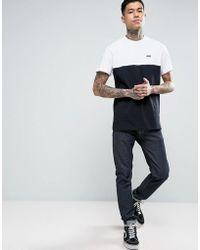 Vans - Colour Block T-shirt In Black Va3czdyb2 - Lyst
