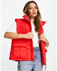 Levi's Puffer Gilet Vest - Red