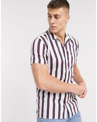 Jack & Jones Musthaves - Gestreept Overhemd Met Korte Mouwen - Meerkleurig