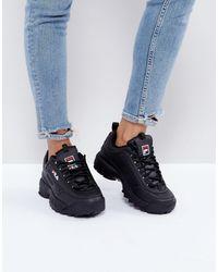 Fila Disruptor - sneakers nere - Nero