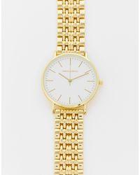 ASOS Bracelet Watch With Face - Metallic