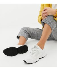 Monki Chunky Sneakers In White