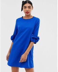 UNIQUE21 - Bow Detail Dress - Lyst