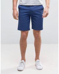 Ben Sherman Chino Shorts - Blue