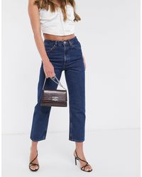 ASOS Florence - Jeans dritti riciclati authentic indaco - Blu