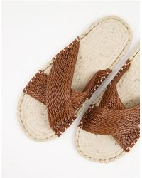 ASOS Espadrilles Sandals - Brown