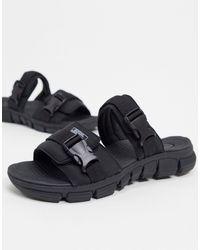 Pull&Bear Sandals - Black