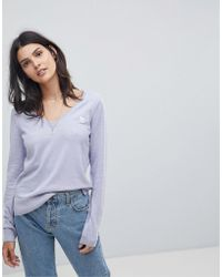 Abercrombie & Fitch - Classic V Neck Knitwear - Lyst
