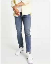 New Look Jeans slim lavaggio blu scuro