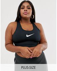 Nike Plus Classic Swoosh Bra - Black