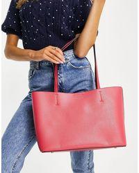 Accessorize Bolso shopper rosa Leo