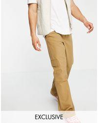 Collusion Pantalones cargo color - Neutro