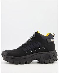Caterpillar Черные Ботинки Cat Resistor-черный Цвет