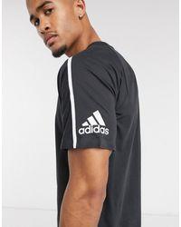 adidas – ZNE – Trainings-T-Shirt - Schwarz