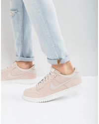 newest 56104 7a227 Dunk Low Trainers In Pink 904234-603