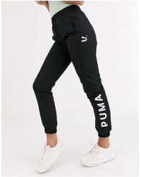 PUMA Jogger avec logo - Noir